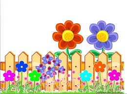 Red Blue Fence Butterfly Art Drawing Flower Fence Pop Up Frame