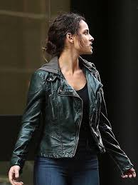 Adria Arjona Person of Interest Dani Silva Jacket | New American ...