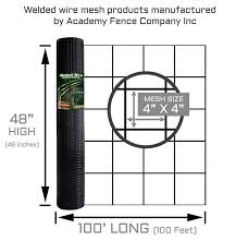 4 X4 11 Gauge Vinyl Coated Welded Wire Roll 4 Ft X 100 Ft Welded Wire Fence