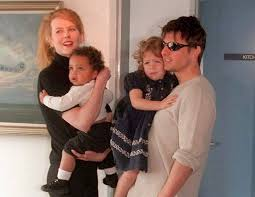Nicole Kidman says her children with Tom Cruise chose Scientology ...