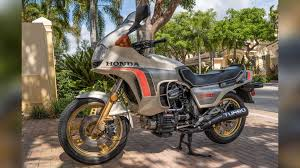this 1982 honda cx500 turbo is the poor