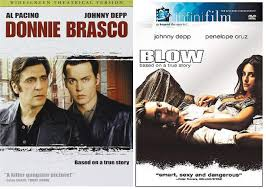 Amazon.com: Drugs FBI & Johnny Depp 2-Movie Action Bundle Blow & Donnie  Brasco True Story Double Feature Crime DVD Set: Johnny Depp: Movies & TV