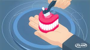 how to remove denture adhesive you