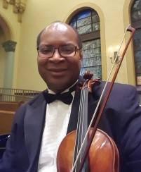 Adrian Walker, violin | WXXI-FM