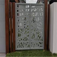 China Customized Design Room Divider Aluminum Alloy Laser Cutting Screen Panel China Aluminum Fence Laser Cutting Screen