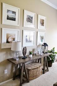 decorate a large blank living room wall