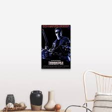 Shop Terminator 2 Judgment Day 1991 Canvas Wall Art Overstock 24135054