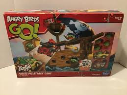 Hasbro Angry Birds Go Jenga Pirate Pig Attack Game - A6439 for ...