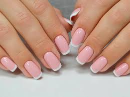 white tip nails never outdate