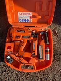 paslode second fix nail gun in