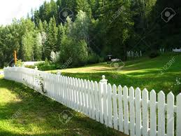 White Picket Fence Stock Photo Picture And Royalty Free Image Image 5303507
