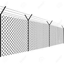Barbed Wire Fence Vector Illustration Royalty Free Cliparts Vectors And Stock Illustration Image 136296799