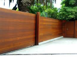 50 Awesome Wood Fence Designs And Ideas Images