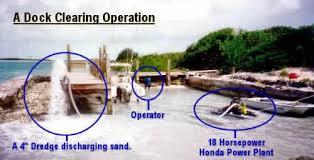 enlarging pond and deeping it
