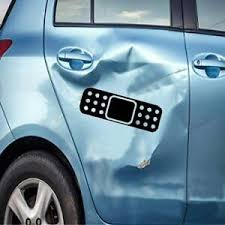 Band Aid 12 Dent Ouch Decal Vinyl Car Window Decal Bumper Sticker Us Seller Ebay