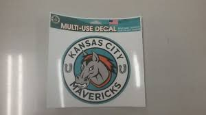 Kansas City Mavericks Multi Use Decal Mo Sports Authentics Apparel Gifts