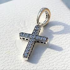 pandora jewelry sparkling cross