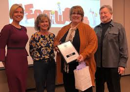 KHA News > News Blog - Brenda Johnson Honored as Patient Safety Hero