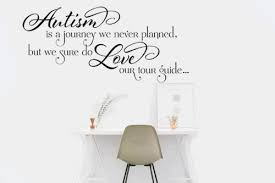 Autism Is A Journey Vinyl Wall Decal Personalize It Toledo