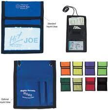 custom neck wallets badge holders