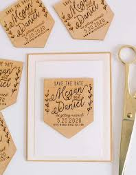 9 creative wood save the date magnets
