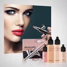 airbrush makeup system rose gold