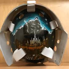 Aaron Dell uses 'Frozen'-inspired goalie mask based off of his ...