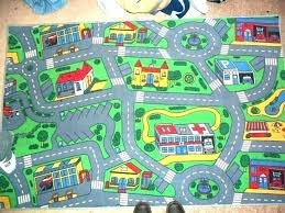 kids play rug with roads rugs ideas