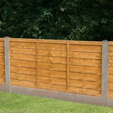 Traditional Lap Fence Panel W 1 83m H 0 91m Departments Diy At B Q