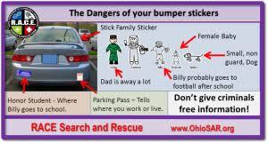 That Sticker On My Car Is Not Endangering Me Free Range Kids