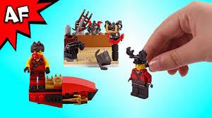 Lego Ninjago Kai Brick Building an Armory & Drifter Boat - YouTube
