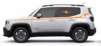 Product Jeep Renegade Pinstripe Graphic Vinyl Decal Sticker Side Camo Stripe