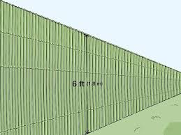 4 Simple Ways To Install Bamboo Screening Wikihow