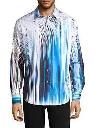 Robert Graham Mens Memento L/S Woven Shirt