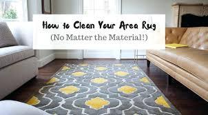 clean rugs best way to clean area rugs