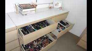 makeup collection storage chloe