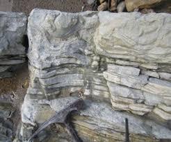 sandstone mudstone outcrop a graded