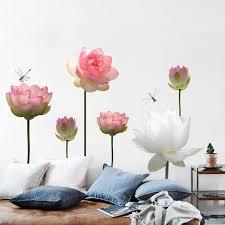 Lotus Wall Decal The Treasure Thrift