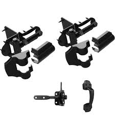 Gate Hardware Tools Home Improvement Winsoon Vinyl And Wood Fence Gate Latch And Hinges Kit 1 Pack Latch And 2 Pack Self Closing Hinge Gate Hardware Gate Latches