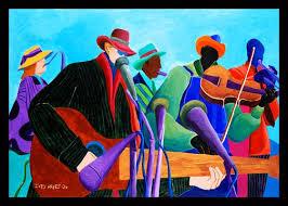 Ivey Hayes (USA)   Art, Jazz art, Black art pictures