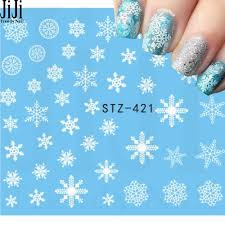 Wholesale Jiji Trendy Nail 1 Sheet Beauty White Snowflake Decals Winter Styles Water Nail Art Stickers Watermark Fingernails Decals Stz421 Nail Stickers And Decals Nail Art Sticker Decals From Sophine06 22 90 Dhgate Com
