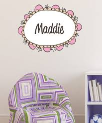 Lollipop Walls Pink Frame Personalized Wall Decal Zulily
