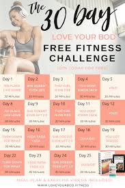 free 30 day intermediate home workout