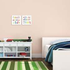 Shop The Kids Room By Stupell Kids Inspirational Word Rainbow Nursery Design Proudly Made In Usa 17 X 17 On Sale Overstock 28858970