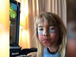 pink s daughter films first ever makeup