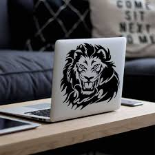 Classic Lion Waterproof Black Laptop Cover Skin Sticker For Laptop Air Pro Retina 11 13 15 Pvc Vinyl Decal Stickers For Laptop Skins Aliexpress