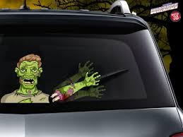 Waving Dead The Wave Zombie Wipertags Attach To Rear Vehicle Wiper Wipertags
