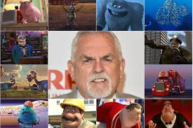 every pixar character voiced by john