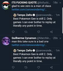 Tempo ZeRo on Twitter:
