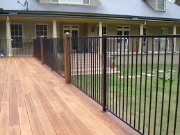 attaching aluminium pool fence panels